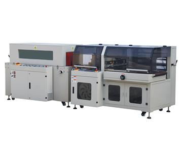 BTH-550+BM-500L型 全自动边封热收缩包装机
