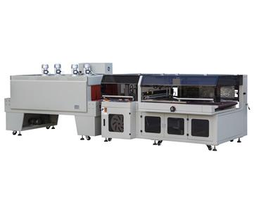 BTH-1000+BM-1000 全自动边封热收缩包装机